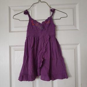 Other - Purple flower dress